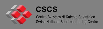 Swiss National Supercomputing Centre - Centro Svizzero di Calcolo Scientifico