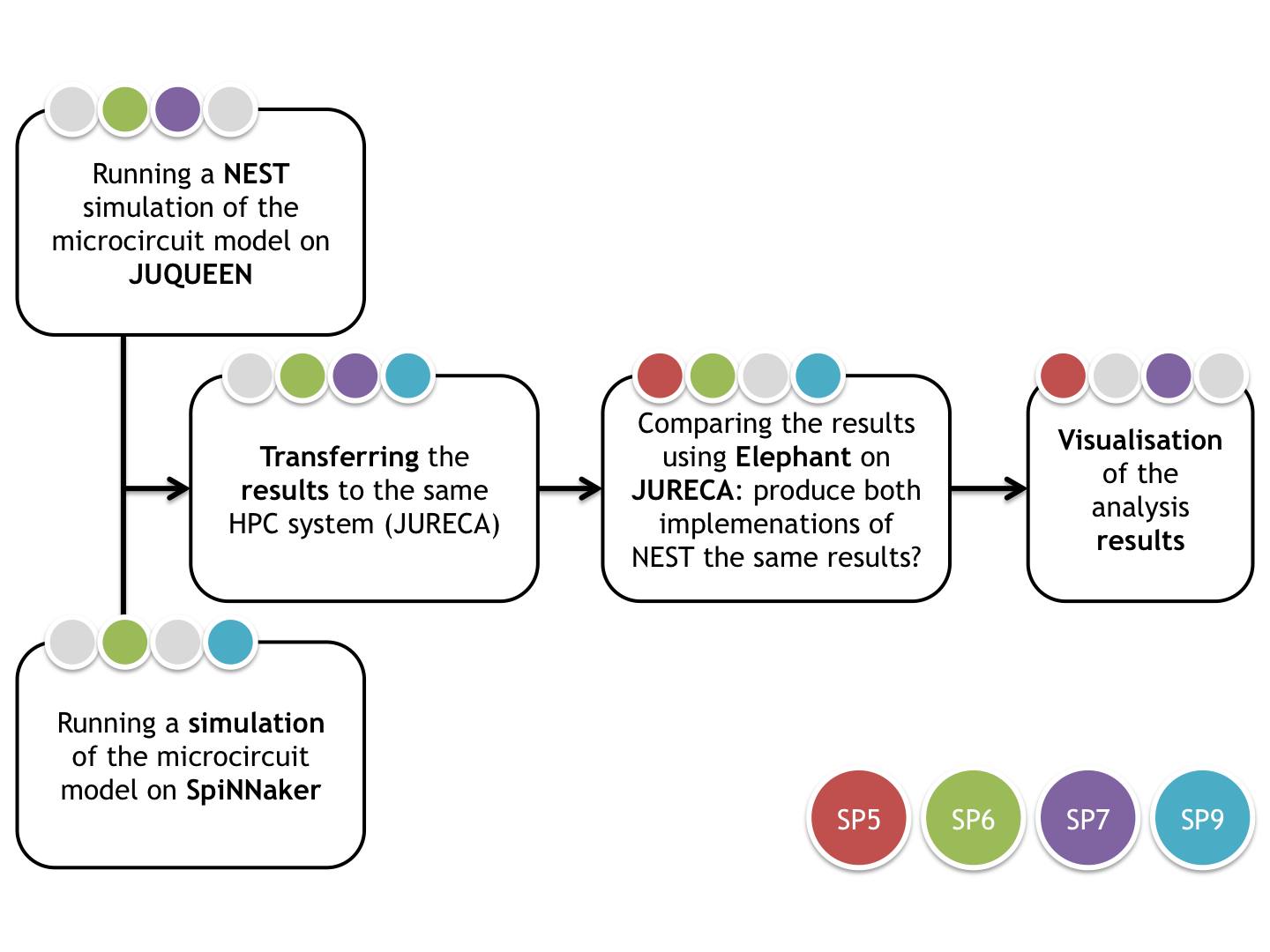 User project: NEST-Elephant-Spinnaker -- first workflow